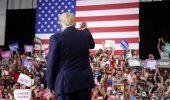 Trump desafía al gobernador de Nevada con mitin en interior