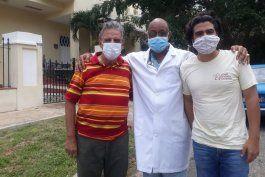 de alta medica el meteorologo cubano jose rubiera