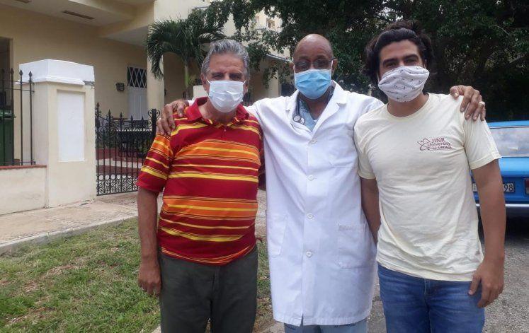 De alta médica el meteorólogo cubano José Rubiera