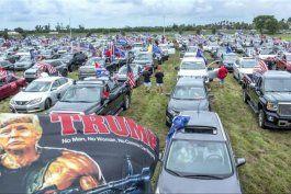 caravana de apoyo a reeleccion de trump reune a miles de personas en miami