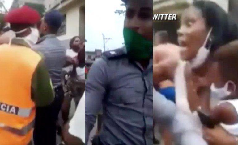 Cinco detenidos tras pelea de mujeres y policías por una multa por el Coronavirus en Marianao
