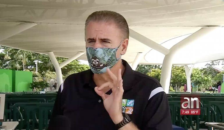 Reabre el zoológico de Miami con estrictas medidas de seguridad