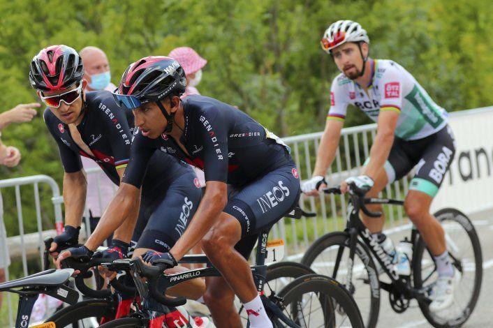 Campeón defensor Egan Bernal abandona el Tour de Francia