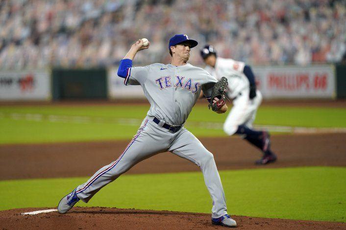 Gibson logra su 1ra blanqueada; Rangers superan a Astros