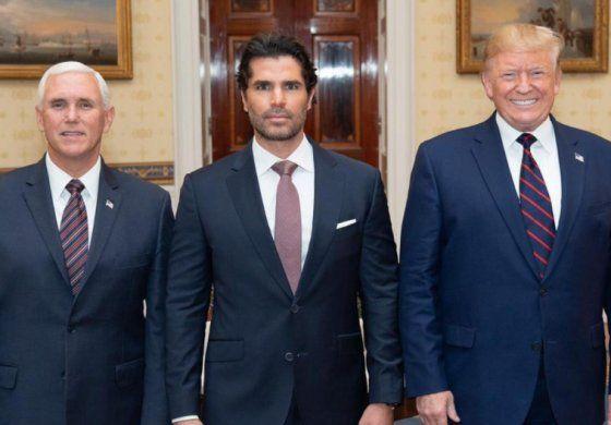 Conocido actor mexicano nominado por Trump para asesorarle sobre la comunidad hispana