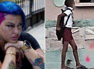 la cantante cubana la diosa pide ayuda para localizar al nino que aparece en una foto viral en las redes sociales donde se le ve que va a la escuela en chancletas por no tener zapatos
