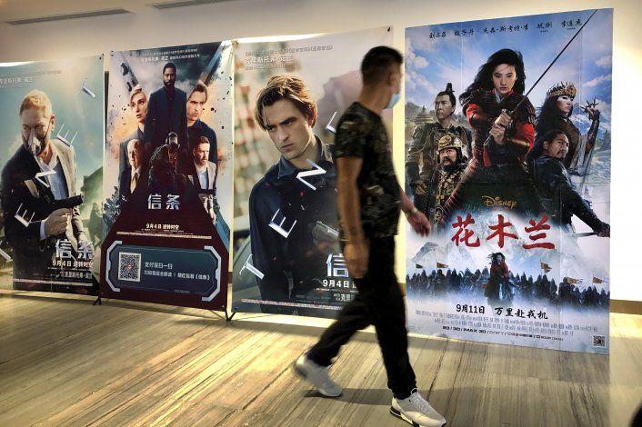 Cinéfilos chinos encuentran la nueva Mulán poco auténtica