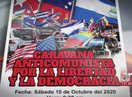 convocan caravana anticomunista en miami para el proximo 10 de octubre