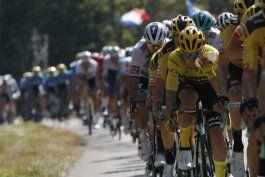 tour: andersen gana 19na etapa; roglic sigue de lider