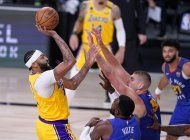 lakers abren final del oeste con triunfo sobre nuggets
