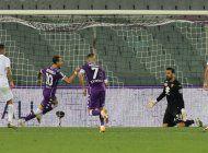 castrovilli logra 1er gol de la campana; fiorentina gana