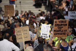 protestas a nivel mundial por restricciones por coronavirus