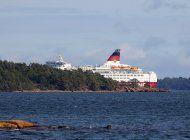encalla ferry en mar baltico; no hay reportes de lesionados