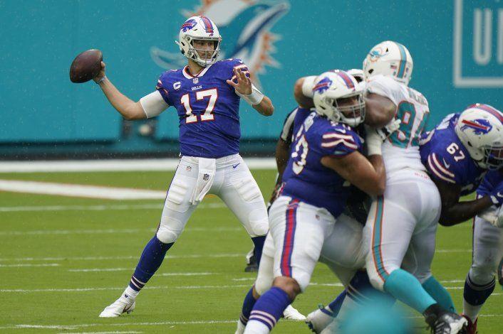 Allen destaca en el triunfo de Bills ante Dolphins