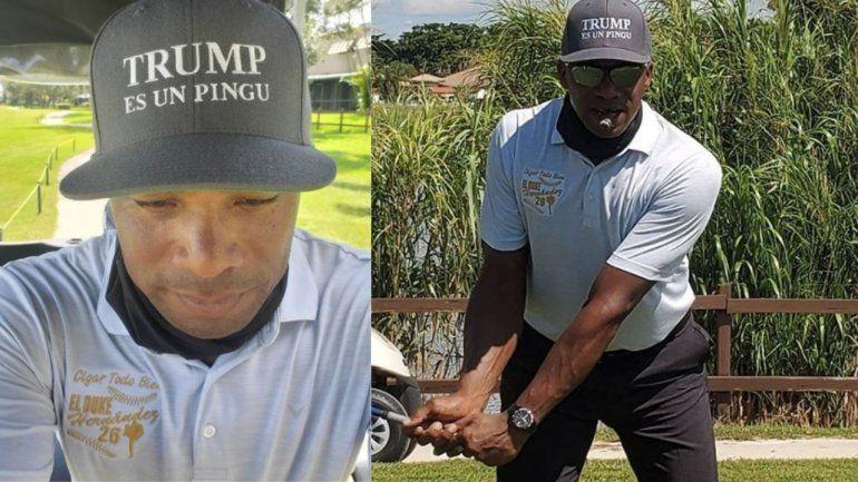 La leyenda del béisbol cubano El Duque Hernández expresa su apoyo a Donald Trump