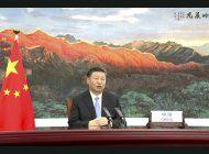 presidente chino: covid muestra que aislacionismo es inutil