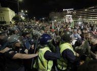 bulgaria: miles exigen renuncia de primer ministro