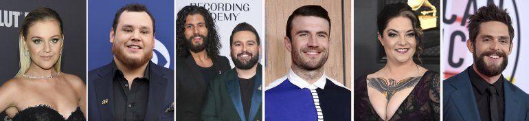 Rhett, Ballerini y Combs entre los nominados a Premios CMT