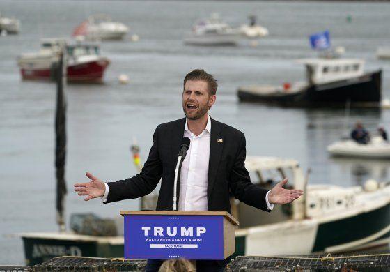 Juez: Eric Trump deberá testificar en NY antes de elecciones
