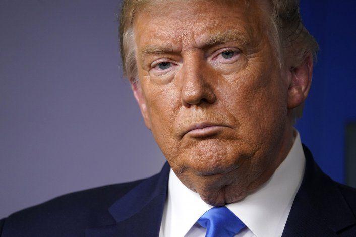 Trump no se compromete con transición pacífica si pierde