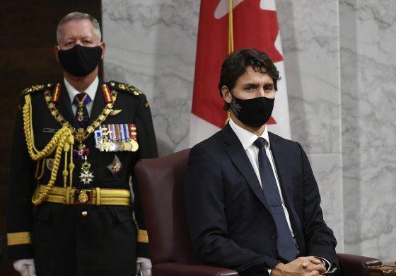 Trudeau dice que Canadá está en segunda ola de COVID-19