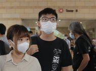 detenido por asamblea ilegal el activista hongkones wong