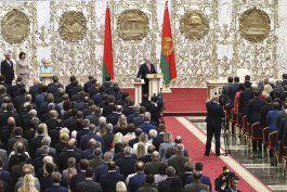 ue: toma de posesion de lukashenko agravara la crisis