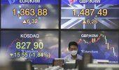 Wall Street con modestias ganancias en medio de volatilidad