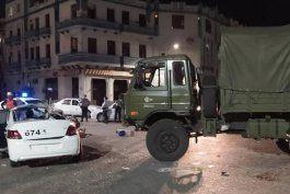 camion de las far destrozo a una patrulla de policia en centro habana