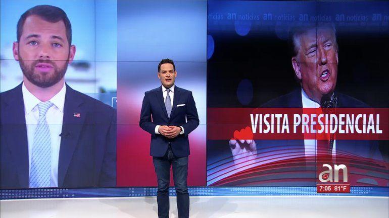 El presidente Donald Trump visitará Miami en busca de más apoyo entre los cubanoamericanos y latinos