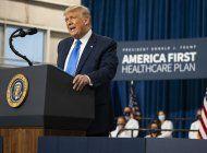 trump promueve vision de sistema de salud