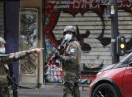 ataque con arma blanca en paris deja 2 heridos y 2 detenidos