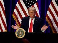 el presidente donald trump se reune con empresarios latinos en el sur de la florida