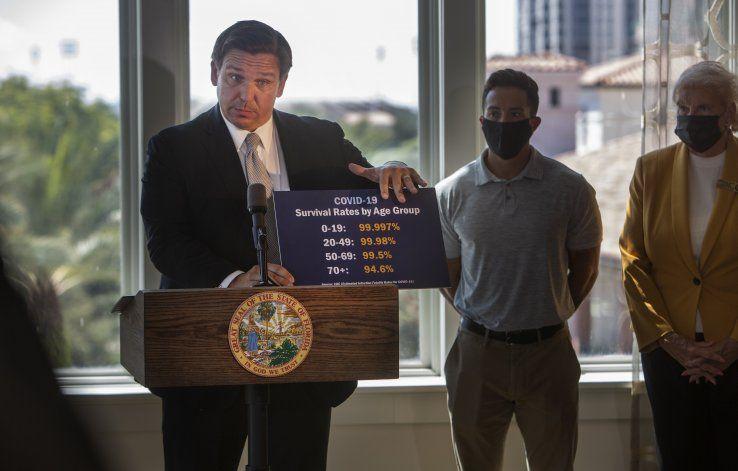 Florida reabre economía estatal a pesar de la pandemia