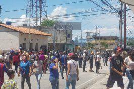 reprimen manifestacion en varios estados de venezuela