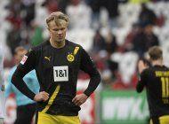 augsburgo sorprende y vence 2-0 al dortmund en la bundesliga