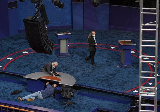 Trump y Biden a su último debate