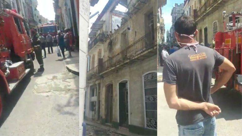 Fue una muerte muy triste: fallece anciana atrapada entre escombros de derrumbe en Habana Vieja