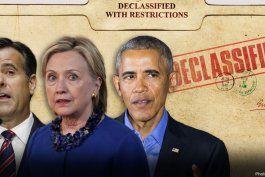administracion obama supo que la ex candidata presidencial democrata hillary clinton estaba intentando vincular a trump con rusia