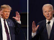 la polemica imagen que publico donald trump sobre el moderador y su rival despues del debate