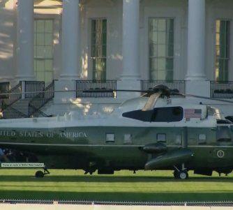 Donald Trump será llevado al Centro Médico Militar Walter Reed: permanecerá allí algunos días