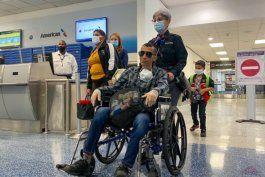 ya esta en miami el opositor cubano enfermo de cancer ramon arbolaez