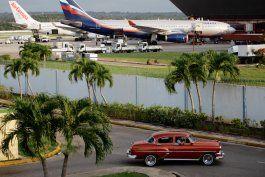 rusia anuncia la reanudacion de dos vuelos semanales a cuba