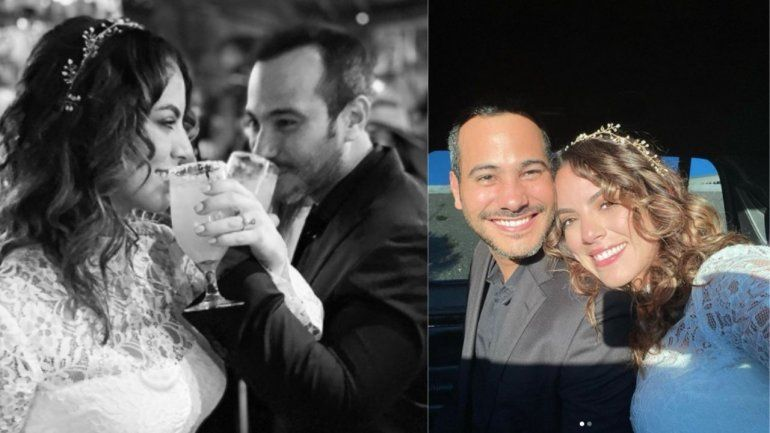 Carlos Enrique Almirante se casa en Las Vegas