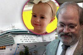abuelo se declara culpable por muerte de nieta en crucero