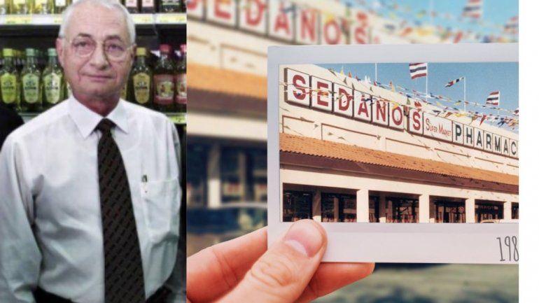 Falleció el hombre que convirtió a Sedanos Supermarkets en la cadena hispana más grande de EEUU