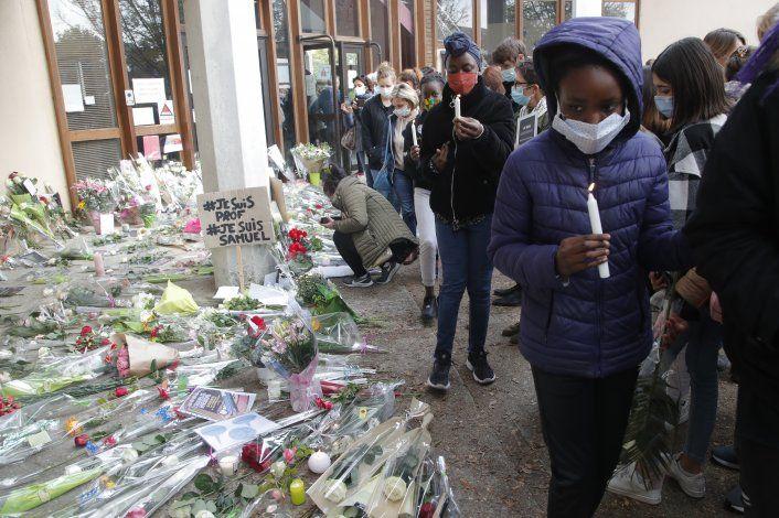 Sospechoso de decapitar a profesor en Francia era checheno