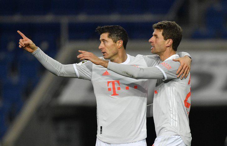 Bayern y Dortmund ganan en la Bundesliga
