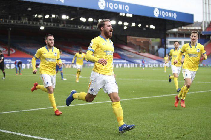 Mac Allister rescata empate para Brighton