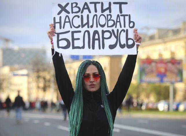 Nueva jornada de protestas contra Lukashenko en Bielorrusia